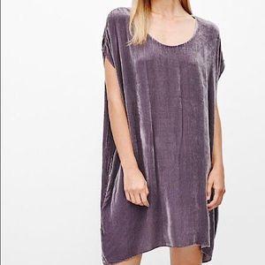 Wilfred Silk Velvet Bouchette Dress